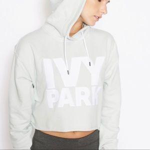 IVY PARK Cropped Logo Hoodie